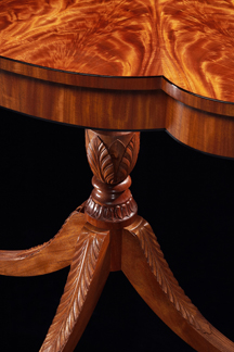 Table by Tom McLaughlin - Carving by Clive Hamilton