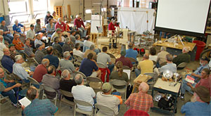 Just one of nearly 30 demonstrations at the 2009 Turning Symposium